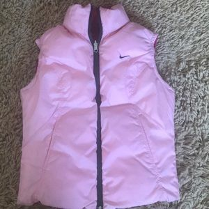 NIKE DOWN REVERSIBLE VEST. Size Small.